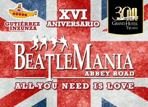 Beatlemania - Abbey Road Show en Tijuana 2016